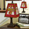 Southern California Trojans - Art Glass Table Lamp
