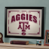 Texas A&M Aggies - Framed Mirror