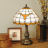 Texas Longhorns - Stained-Glass Tiffany-Style Table Lamp