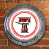 Texas Tech Raiders  - Neon Light Wall Clock