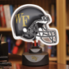 Wake Forest Demon Deacons - Neon Helmet & Cap Desk Lamp