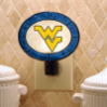 West Virginia Mountaineers - Art Glass Night Light