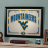 West Virginia Mountaineers - Framed Mirror