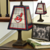 Cleveland Indians - Art Glass Table Lamp