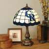 Colorado Rockies - Stained-Glass Tiffany-Style Table Lamp