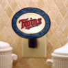 Minnesota Twins - Art Glass Night Light