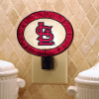 St. Louis Cardinals - Art Glass Night Light