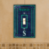 Seattle Mariners - Single Art Glass Light Switch Cover