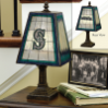 Seattle Mariners - Art Glass Table Lamp