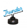 Oklahoma City Thunder - Neon Script Desk Lamp