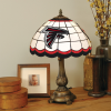 Atlanta Falcons - Stained-Glass Tiffany-Style Table Lamp