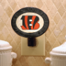 Cincinnati Bengals - Art Glass Night Light