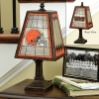 Cleveland Browns - Art Glass Table Lamp