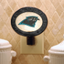Carolina Panthers - Art Glass Night Light