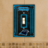 Carolina Panthers - Single Art Glass Light Switch Cover