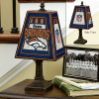 Denver Broncos - Art Glass Table Lamp
