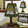 Green Bay Packers - Art Glass Table Lamp