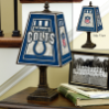 Indianapolis Colts - Art Glass Table Lamp