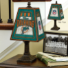 Miami Dolphins - Art Glass Table Lamp