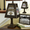 New Orleans Saints - Art Glass Table Lamp