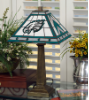 Philadelphia Eagles - Stained-Glass Mission-Style Table Lamp