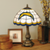 San Diego Chargers - Stained-Glass Tiffany-Style Table Lamp