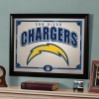 San Diego Chargers - Framed Mirror