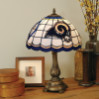 St. Louis Rams - Stained-Glass Tiffany-Style Table Lamp