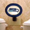 Seattle Seahawks - Art Glass Night Light