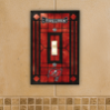 Tampa Bay Buccaneers - Single Art Glass Light Switch Cover
