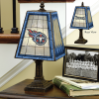 Tennessee Titans - Art Glass Table Lamp