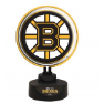 Boston Bruins -Team Logo Neon Desk Lamp