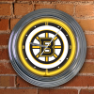 Boston Bruins - Neon Light Wall Clock