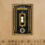 Boston Bruins - Single Art Glass Light Switch Cover