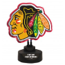 Chicago Blackhawks -Team Logo Neon Desk Lamp