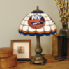 New York Islanders - Stained-Glass Tiffany-Style Table Lamp