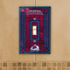 Colorado Avalanche - Single Art Glass Light Switch Cover