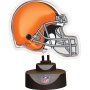 Cleveland Browns - Neon Helmet & Cap Desk Lamp