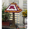Minnesota Gophers - Stained-Glass Mission-Style Table Lamp