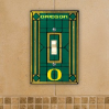 Oregon Ducks -  Single Art Glass Light Switch Cover