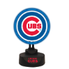 Chicago Cubs -Team Logo Neon Desk Lamp