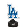 Los Angeles Dodgers  - Team Logo Neon Desk Lamp