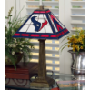 Houston Texans - Stained-Glass Mission-Style Table Lamp