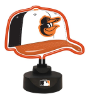 Baltimore Orioles - Neon Helmet & Cap Desk Lamp