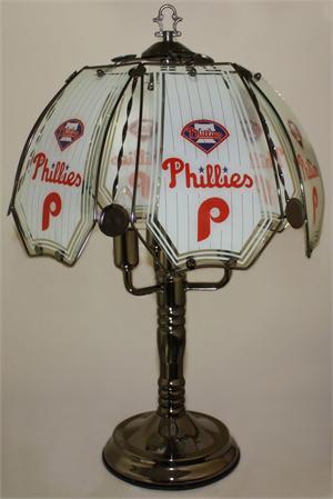Philadelphia Phillies Touch Lamp At Sportsfanprolighting Com
