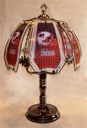 New England Patriots Touch Lamp At Sportsfanprolighting Com