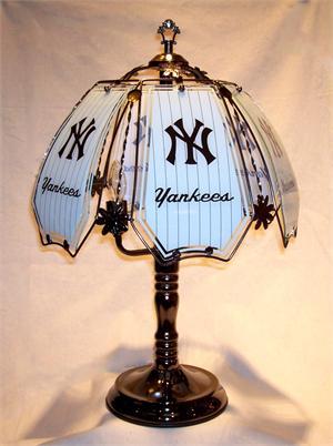 New York Yankees Touch Lamp At Sportsfanprolighting Com