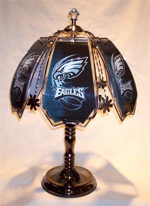 Philadelphia Eagles Touch Lamp At Sportsfanprolighting Com