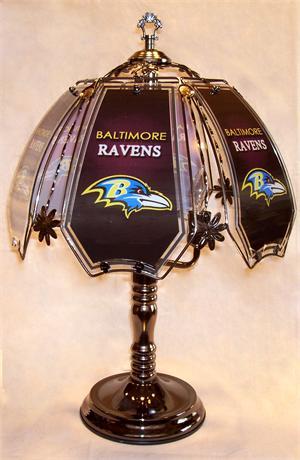 Baltimore Ravens Touch Lamp At Sportsfanprolighting Com
