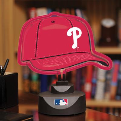 Philadelphia Phillies Neon Helmet Amp Cap Desk Lamp At